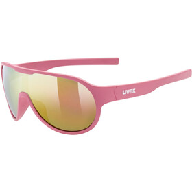 UVEX Sportstyle 512 Glasses Kids pink matt/mirror red